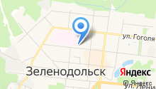 Управление Пенсионного фонда России по г. Зеленодольску, Зеленодольскому и Верхнеуслонскому районам Республики Татарстан на карте