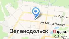 Управление Пенсионного фонда России по г. Зеленодольску на карте