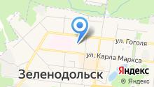 Зеленодольское медицинское училище на карте
