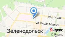 Медиа-лавочки Зеленодольск на карте