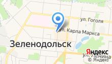 Ангам на карте