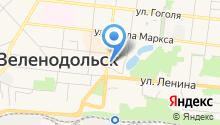 Сеть магазинов автотоваров на карте