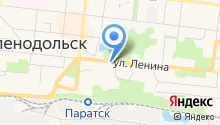 Романовский мост на карте