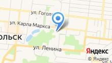 Отдел социальной защиты г. Зеленодольска на карте