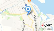 Нижневязовская поселковая библиотека на карте
