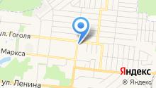 Магазин автотоваров на ул. Заикина на карте