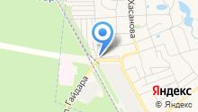 Продуктовый магазин на ул. Надежды на карте