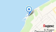 Яхт-клуб на карте
