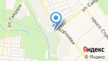 Бюро ритуальных услуг на ул. Королёва на карте