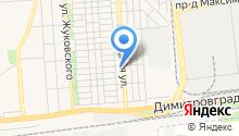 Автомойка на Волжской на карте