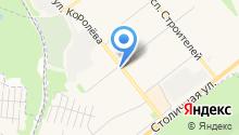 Бистро на ул. Комарова на карте