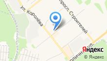 Узген на карте