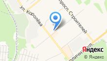 Магазин разливных напитков на ул. Комарова на карте