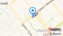 MySeoService на карте