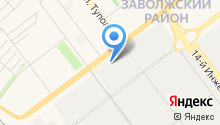 Автотон+ на карте