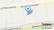 Яркая мебель на карте