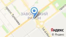 """Ателье матрасов """"СОН"""" - Производство ортопедических матрасов на карте"""