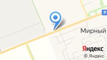 Телега на карте