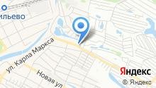 Продуктовый магазин на ул. Карла Маркса на карте