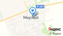 Мирновская средняя общеобразовательная школа на карте