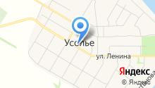 Усольское ЖКХ Шигонского района, МУП на карте