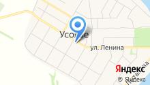 Усольский торговый дом на карте