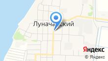 Администрация сельского поселения Луначарский на карте