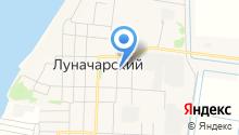 Продуктовый магазин на ул. Специалистов на карте