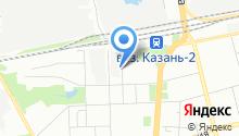 Auto-Zone на карте