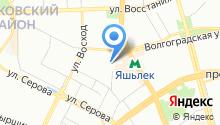 Опорный пункт общественного порядка по Московскому району на карте