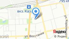 AutoOkey на карте