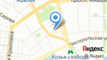 5D-аттракцион на карте