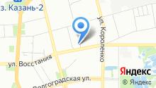 Мировые судьи Ново-Савиновского района на карте