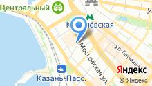 1 городское на карте