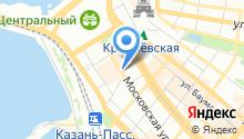 CityMobil на карте
