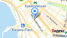 Adsend.ru на карте