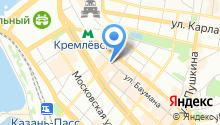 Basilico lounge на карте