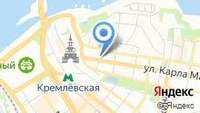 Казанская Епархия Русской Православной Церкви на карте