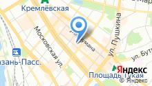 Центр производственной субконтрактации Республики Татарстан на карте