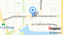 Эстетик-Сити на карте