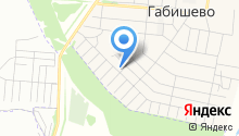 Коттеджный поселок на карте