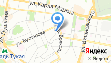 Brend на карте