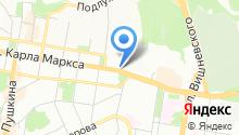 Казанский шар на карте