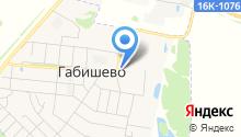 Габишевская средняя общеобразовательная школа на карте