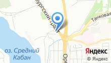 1001 тур-Казань на карте