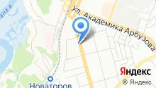 Check Point на карте