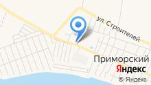 Автомойка на Советской на карте