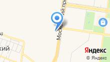 АГЗС на Московском проспекте на карте