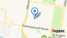Каркас, ЗАО на карте