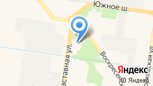 Автокомплекс №1 на карте
